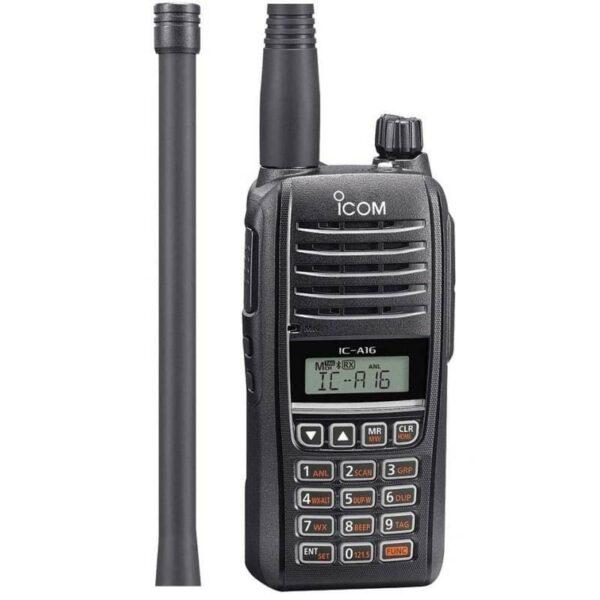 Icom A16B Handheld Radio | Bluetooth